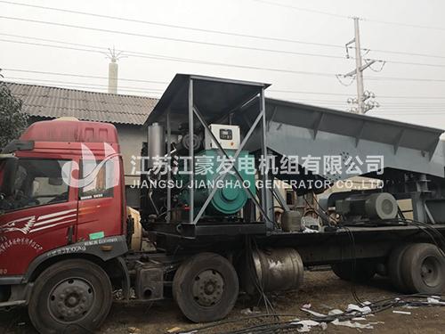 陝西電力(li)一台500KW乾能配恆聲發電???
