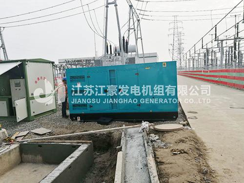國家電網一台300KW上(shang)柴(chai)股份配恆聲???