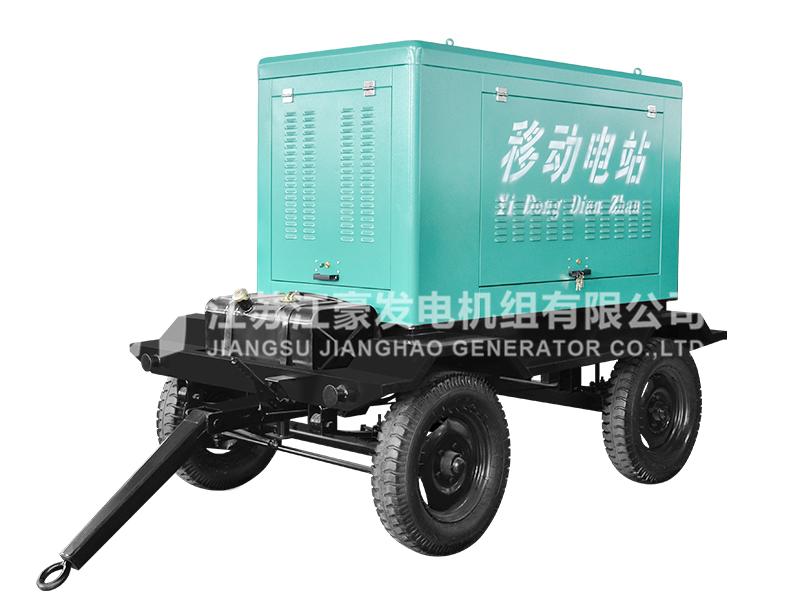 移动拖车式发电机组
